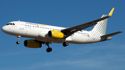 A picture of ECMKO - Airbus A320232 - Vueling - © a.m.