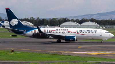 N342AM - Boeing 737-8Z9 - Aeroméxico