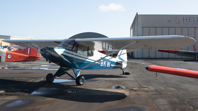 ZK-BKW - Piper PA-18 Super Cub - Private