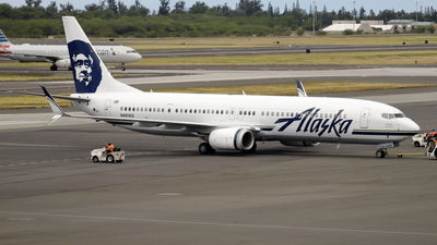 A picture of N491AS - Boeing 737990(ER) - Alaska Airlines - © Mitsuhiro Yamamoto