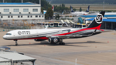 A picture of B20EF - Boeing 757236(PCF) - SF Airlines - © SEN BAI
