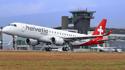 N983TA - Embraer 190-100IGW - Helvetic Airways