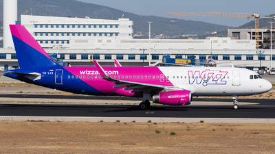HA-LYX - Airbus A320-232 - Wizz Air