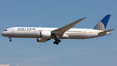 N19951 - Boeing 787-9 Dreamliner - United Airlines