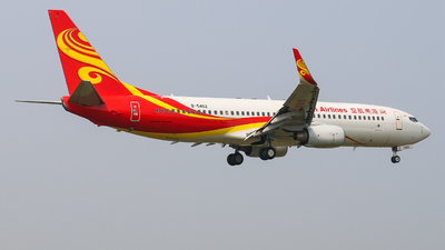 B-5462 - Boeing 737-84P - Hainan Airlines