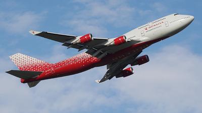 A picture of EIXLG - Boeing 747446 - Rossiya - ©  koba emukhvari