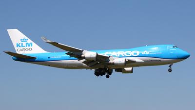 A picture of PHCKC - Boeing 747406F(ER) - KLM - © Mark de Bruijn