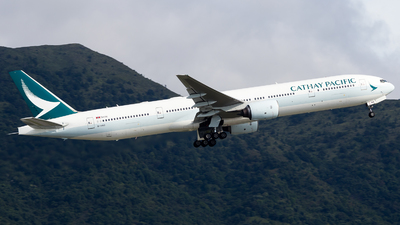 B-HNQ - Boeing 777-367 - Cathay Pacific Airways