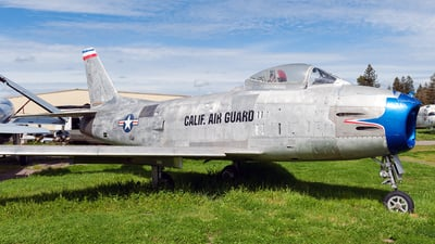 53-1378A - North American F-86F Sabre - United States - US Air Force (USAF)