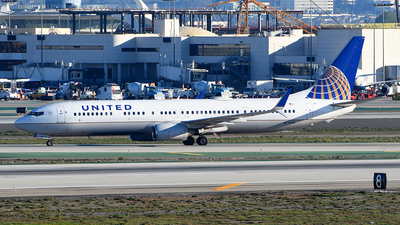 A picture of N77431 - Boeing 737924(ER) - United Airlines - © Rocky Wang