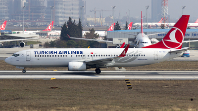 TC-JGI - Boeing 737-8F2 - Turkish Airlines