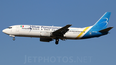 UR-GAP - Boeing 737-4Z9 - Blue Panorama Airlines