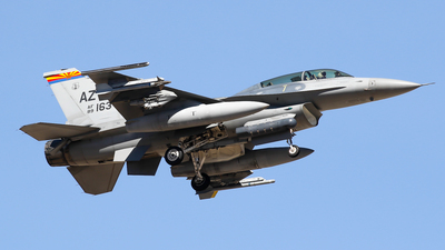 89-2163 - General Dynamics F-16AM Fighting Falcon - United States - US Air Force (USAF)
