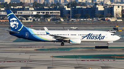 A picture of N533AS - Boeing 737890 - Alaska Airlines - © Rocky Wang