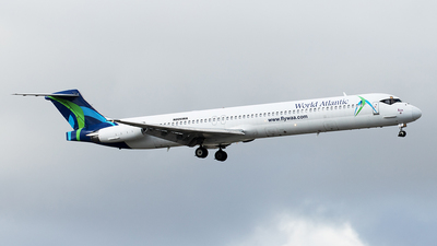 N806WA - McDonnell Douglas MD-83 - World Atlantic Airlines
