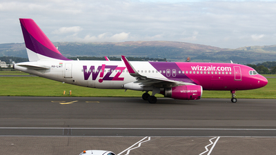 HA-LWT - Airbus A320-232 - Wizz Air
