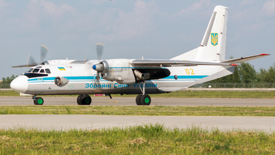 02 - Antonov An-26 - Ukraine - Air Force