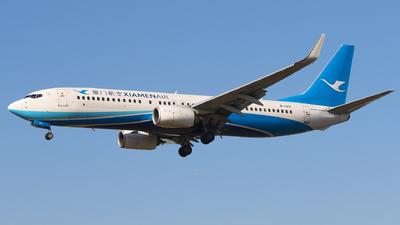 A picture of B1371 - Boeing 73785C - Xiamen Air - © Aircraft carrier FX