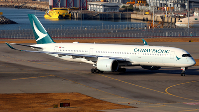 A picture of BLRM - Airbus A350941 - Cathay Pacific - © Thomasng