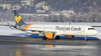 G-TCDH - Airbus A321-211 - Thomas Cook Airlines
