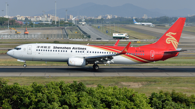A picture of B1476 - Boeing 73787L - Shenzhen Airlines - © BCG554