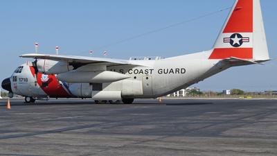 1718 - Lockheed HC-130H Hercules - United States - US Coast Guard (USCG)