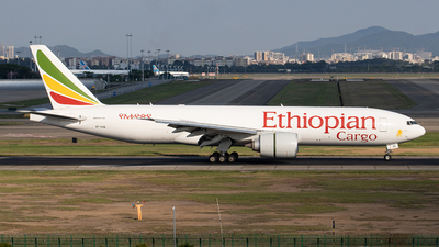 ET-AVQ - Boeing 777-FDZ - Ethiopian Cargo