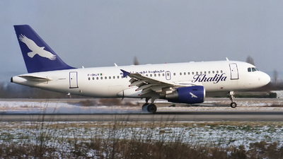 F-OHJV - Airbus A319-112 - Khalifa Airways