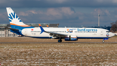 A picture of TCSOV - Boeing 7378HC - SunExpress - © marfi80