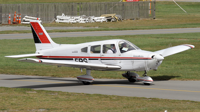 ZK-EBS - Piper PA-28-151 Cherokee Warrior - Aero Club - Canterbury