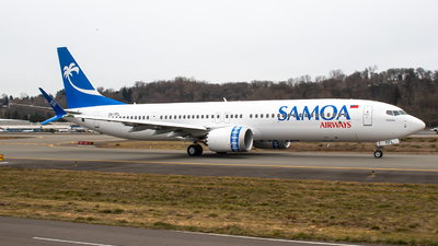 DQ-TFL - Boeing 737-9 MAX - Samoa Airways