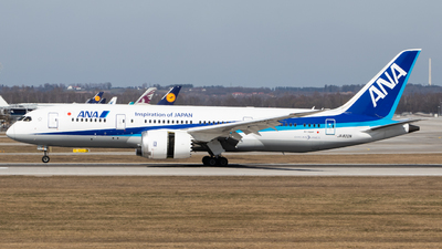 JA822A - Boeing 787-8 Dreamliner - All Nippon Airways (Air Japan)