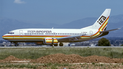 G-BNGM - Boeing 737-3Y0 - Inter European Airways
