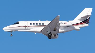 A picture of N540QS - Cessna 680A Citation Latitude - NetJets - © Evan Dougherty