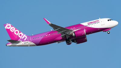 JA204P - Airbus A320-251N - Peach Aviation