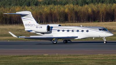 OE-LVA - Gulfstream G500 - MJet