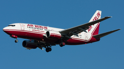 D-ABBV - Boeing 737-7Q8 - Air Berlin