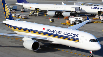 9V-SGC - Airbus A350-941 - Singapore Airlines