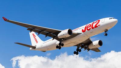 G-VYGL - Airbus A330-243 - Jet2.com (Air Tanker)