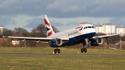 A picture of GDBCD - Airbus A319131 - British Airways - © Rolf Jonsen