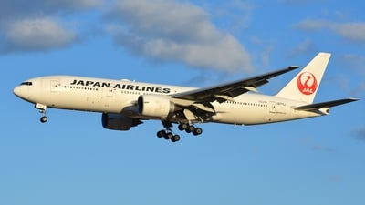 JA711J - Boeing 777-246(ER) - Japan Airlines (JAL)