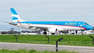 LV-GIK - Embraer 190-100IGW - Aerolíneas Argentinas