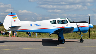 UR-PVKB - Yakovlev Yak-18T - Private