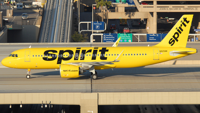 A picture of N925NK - Airbus A320271N - Spirit Airlines - © Jason Whitebird