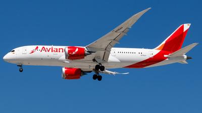 A picture of N795AV - Boeing 7878 Dreamliner - Avianca - © Antonio Carlos Carvalho Jr.