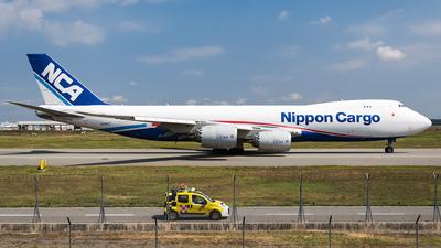 JA14KZ - Boeing 747-8KZF - Nippon Cargo Airlines (NCA)