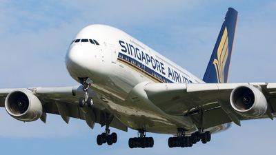 9V-SKT - Airbus A380-841 - Singapore Airlines