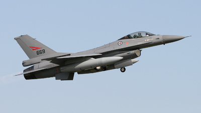 669 - General Dynamics F-16AM Fighting Falcon - Norway - Air Force