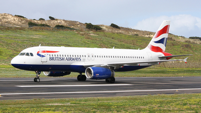 G-GATN - Airbus A320-232 - British Airways