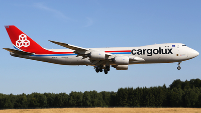 LX-VCH - Boeing 747-8R7F - Cargolux Airlines International
